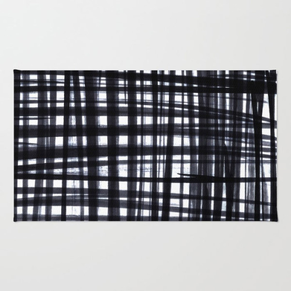 brushed-check-rugs