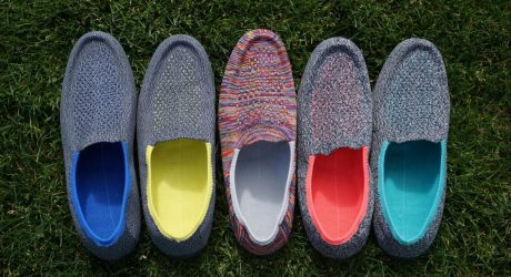 3D Knitted Footwear Lets You Customize Color and Size of Each Shoe