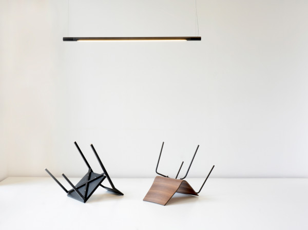 light with chairs
