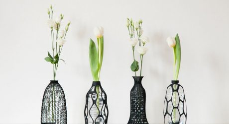 3D Printed Vases That Give New Life to Old Bottles