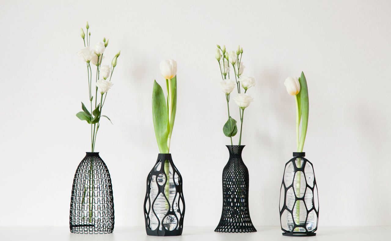 3d printed vases give new life to old bottles design milk 3d printed vases that give new life to old bottles reviewsmspy