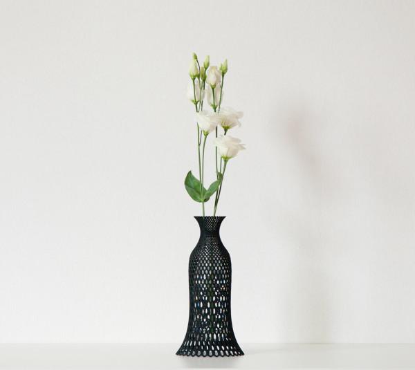 3Dプリント・花瓶・リベロ-Rutilo-7-レース花瓶