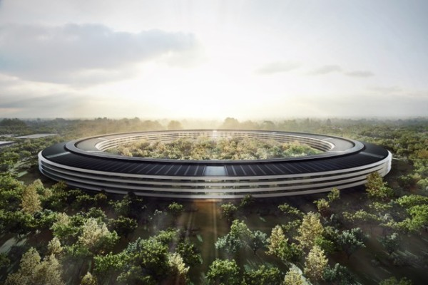 A render of Apple Campus 2. Image: Apple.