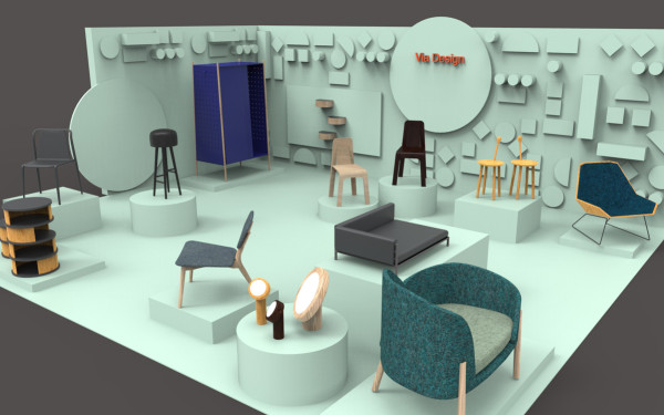 Stand Design by Anders Engholm and Britt Rasmussen