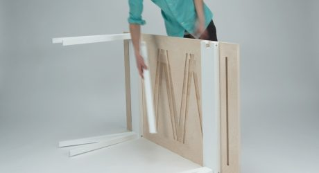 SWALLOW: A Dining Table Built for Easy Travel