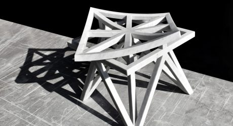Geometric Furniture Inspired by Arabesque Patterns