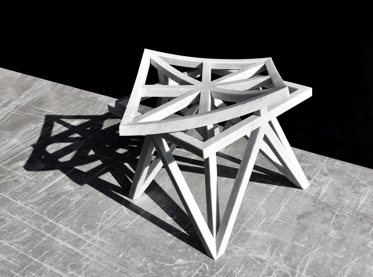 Geometric Furniture Inspired By Arabesque Patterns ...
