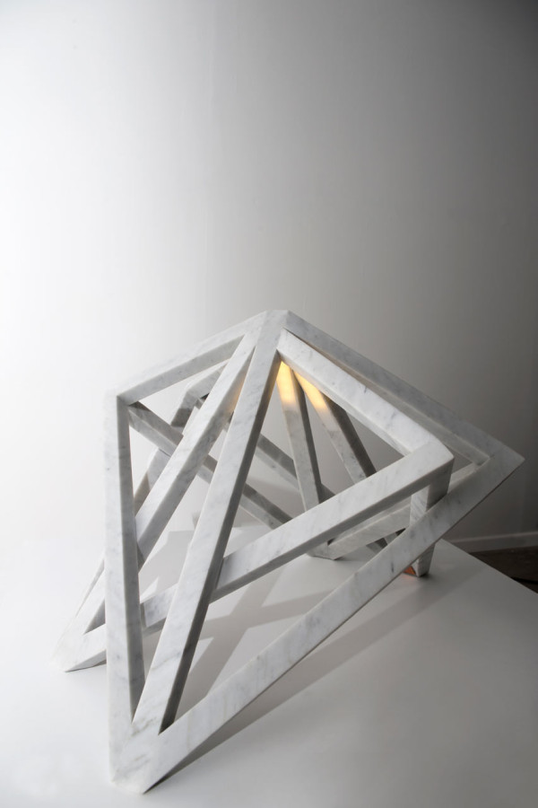 Double Square Lamp