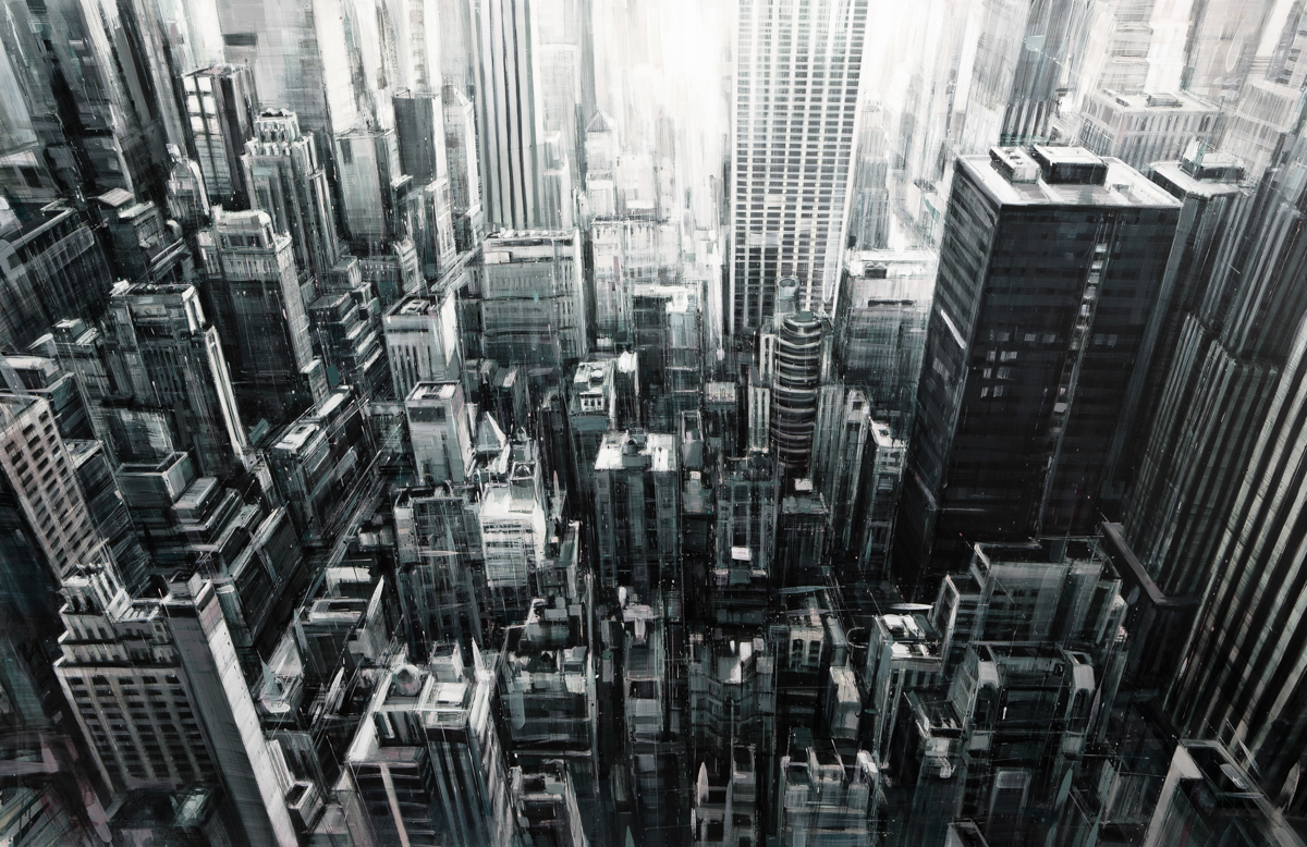Painted Cityscapes By Valerio D'Ospina