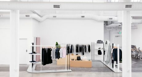 1920's Laundry Facility Becomes Everlane's Office + Showroom