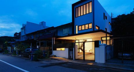 A Dark, 50-Year Old House is Transformed in Singapore