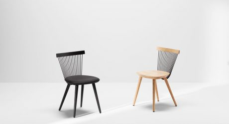 WW Chair: A Modern Windsor Chair Made With Wire