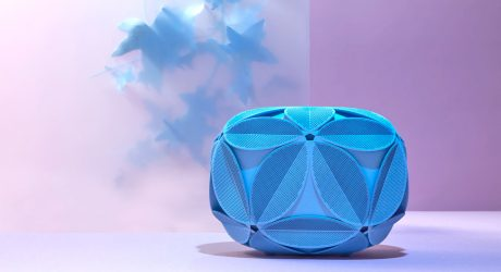 Odo Fioravanti's 2nd 3D Printed Clutch for Maison 203