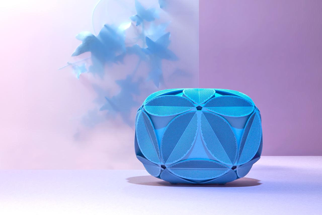Odo Fioravanti's 2nd 3D Printed Clutch for Maison 203