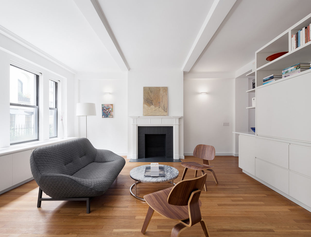 Pre-War, NYC Apartment Gets a Renovation - Design Milk