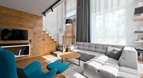 A Cozy, Scandinavian-Inspired Loft in Lithuania