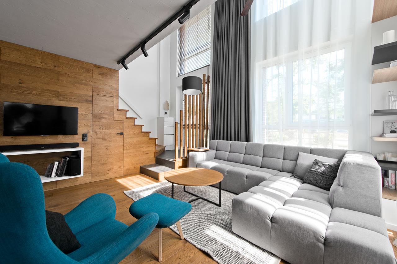 A Cozy, Scandinavian-Inspired Loft in Lithuania