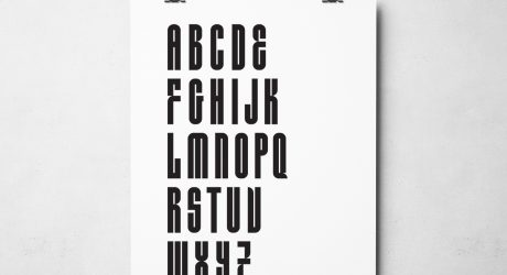 A 1930's Font Gets Revived as Wood Type & Digital Fonts