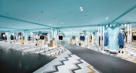Nendo Designs the Women's Fashion Floor of a Japanese Department Store