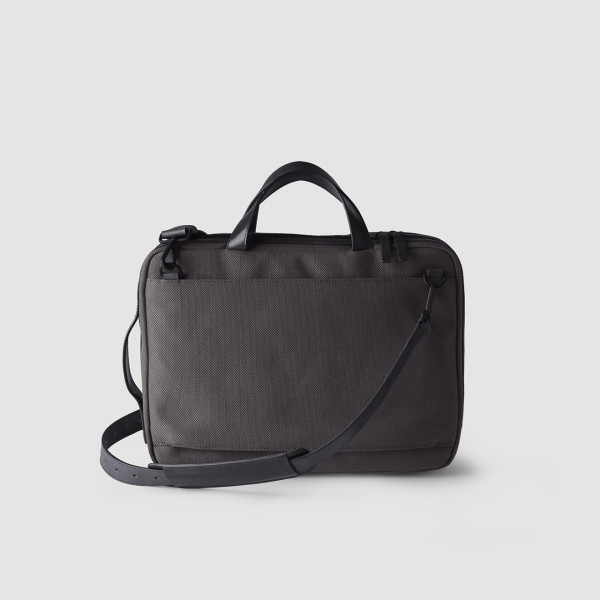 Octovo-Fabric-Briefcase-Charcoal-Back