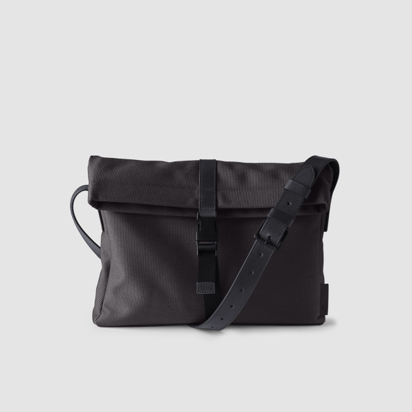 Octovo-Fabric-Musette-Charcoal-Front