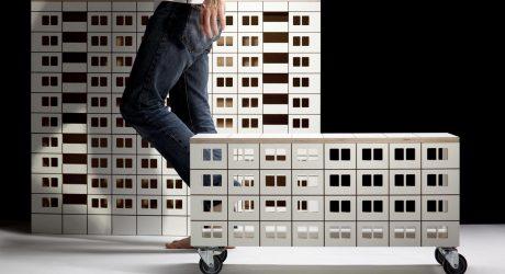 Furniture that Mimics Slovakian Apartment Buildings