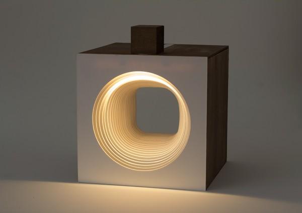 Panta Rei Light Cube-circle