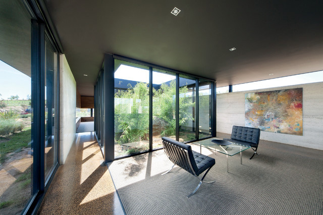 10 modern houses with interior courtyards gardens. beautiful ideas. Home Design Ideas