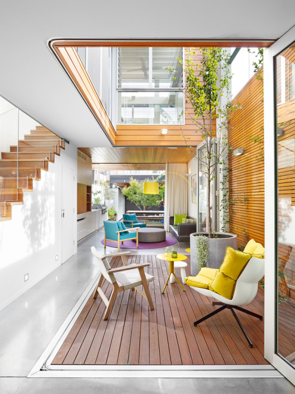10 modern houses with interior courtyards design milk - British interior design style pragmatism comes first ...