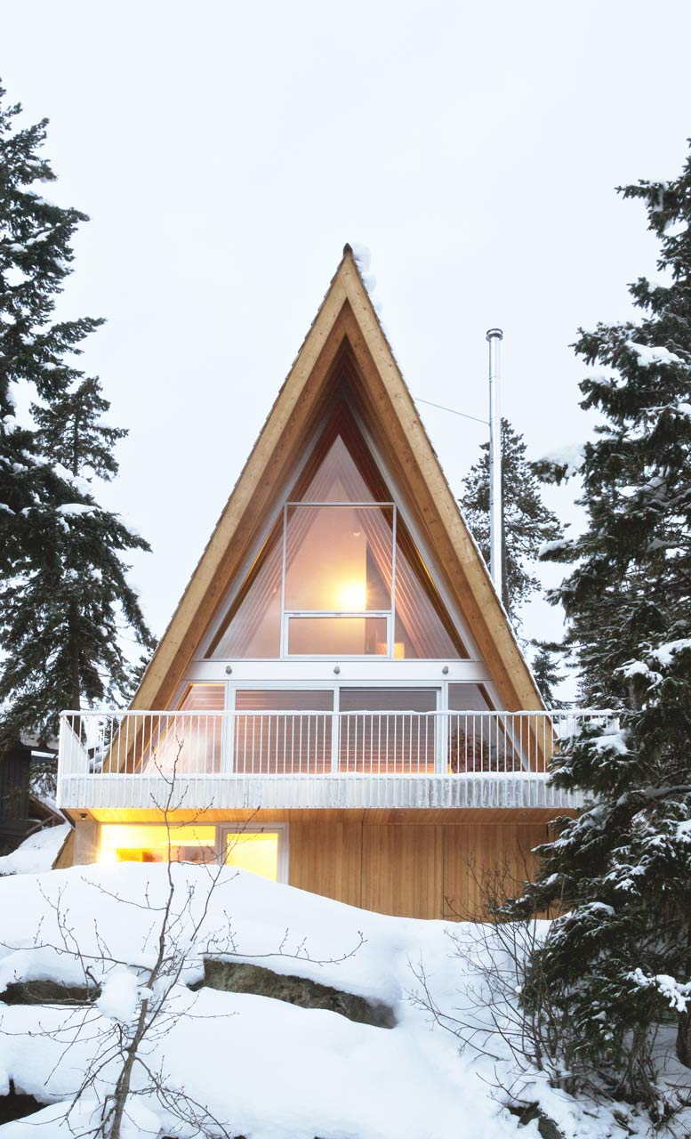 An A Frame Cabin For A Snowboarding Family In Whistler ...