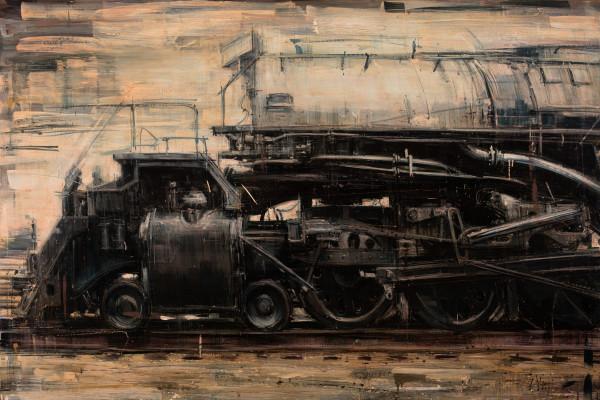 Still steel and steam