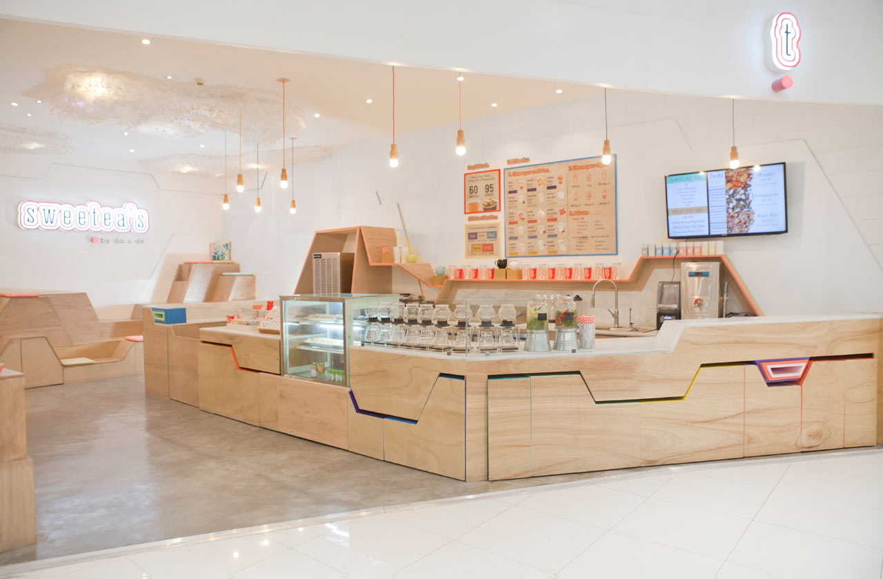 Tea Cafe With Filipino Roots A Fresh Bold Twist Design Milk
