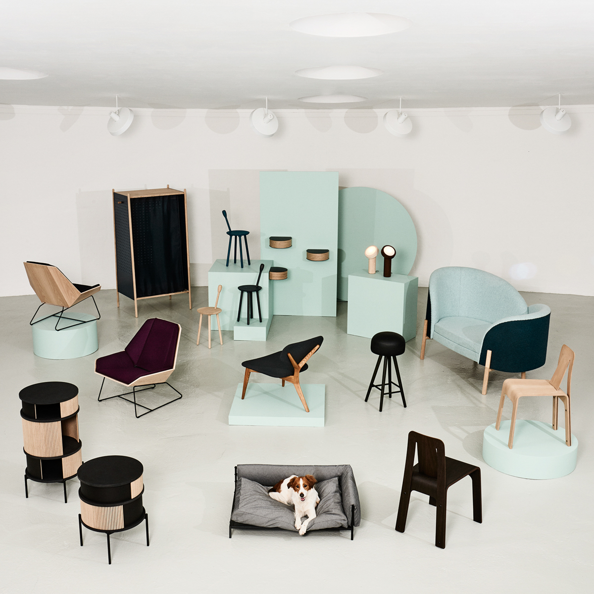 Via 39 s furniture students exhibit at stockholm design milk for Furniture exhibition