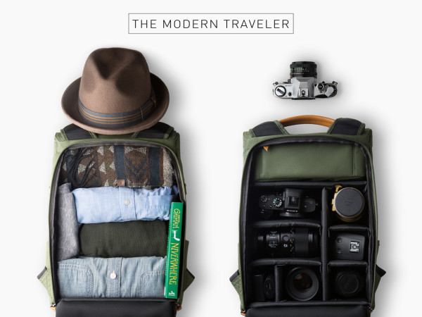 A Travel Amp Camera Bag For Everyday Adventures Design Milk