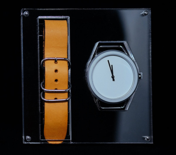 The classic VARIO packaging complements the simplicity of the timepiece.
