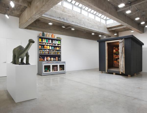 Installation view, Tanya Bonakdar Gallery, New York, 2016