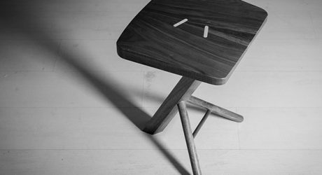A Stool Inspired By Japanese Folklore