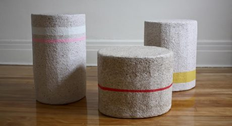 Paperscapes: From Recycled Paper to Functional Furniture