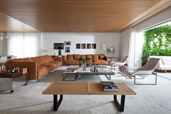 A Neoclassical Apartment Goes Contemporary