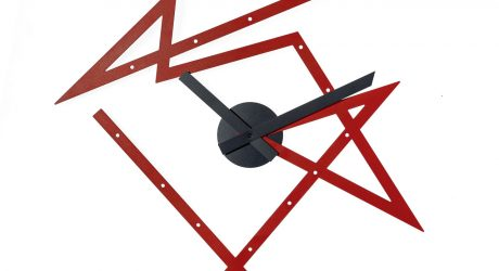 Time Maze Clock by Daniel Libeskind for Alessi