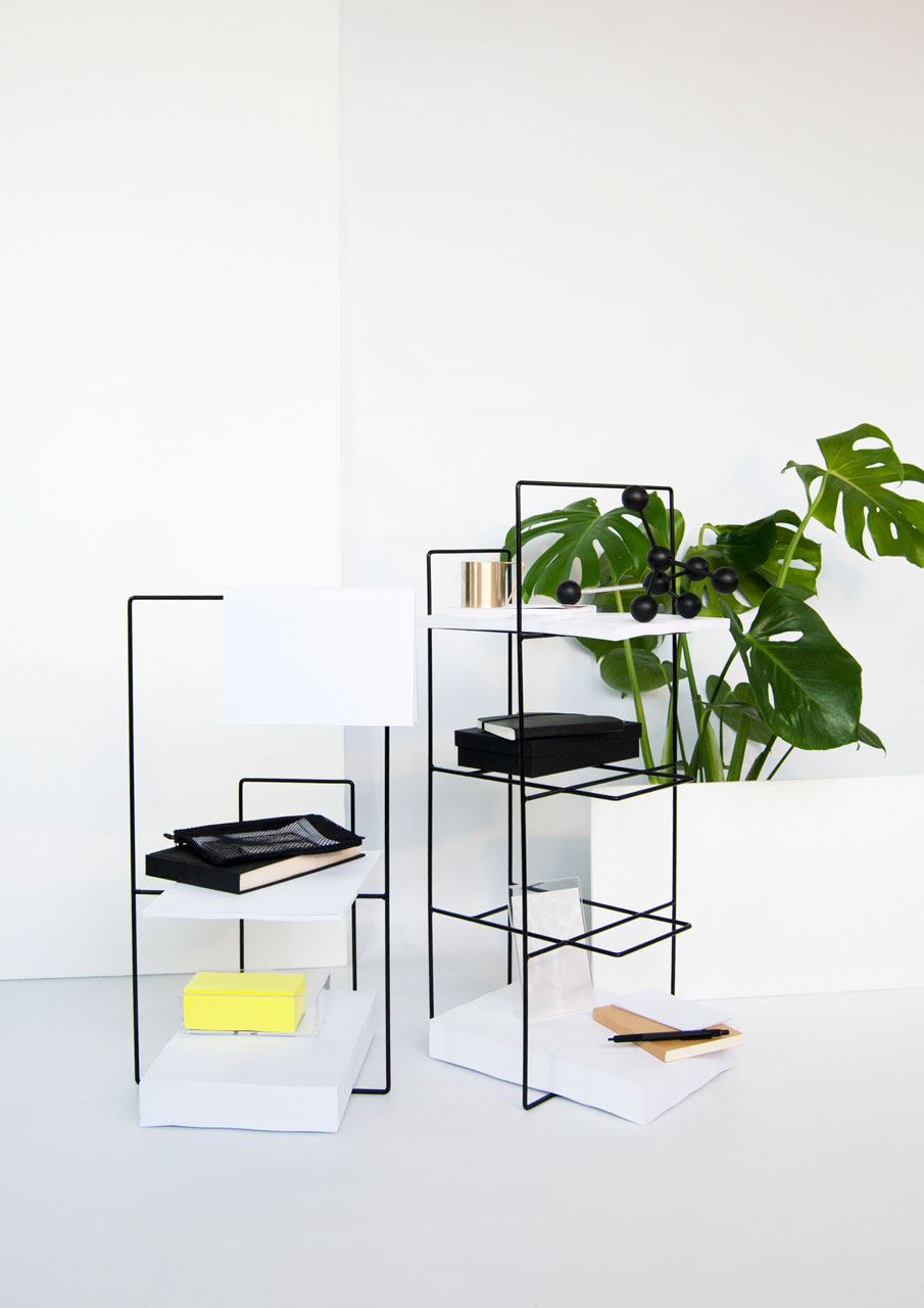 minimalist furniture collection inspired by the line