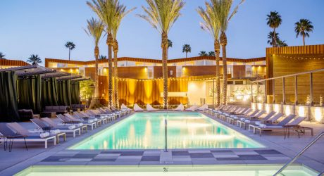 Arrive Hotel Lands in Palm Springs