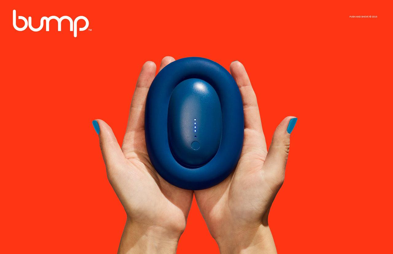 Bump = Wall Plug + Power Bank + Premium Cable + Holder