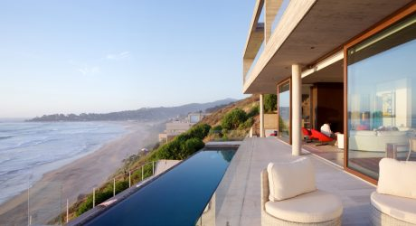 A Hillside Beach Retreat on the Coast of Chile