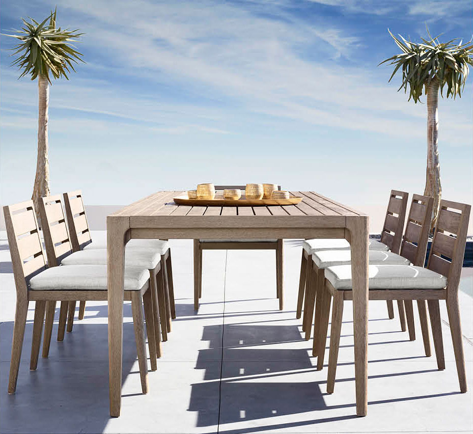 Restoration hardware outdoor furniture restoration for Restoration hardware teak outdoor furniture
