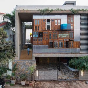 A House Full of Recycled Materials
