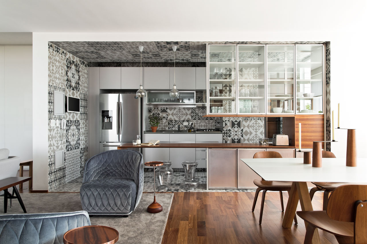 360 Degree Apartment by Diego Revollo