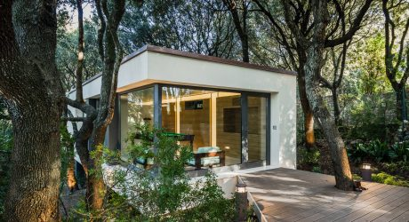 A House in the Woods of Sassari, Italy