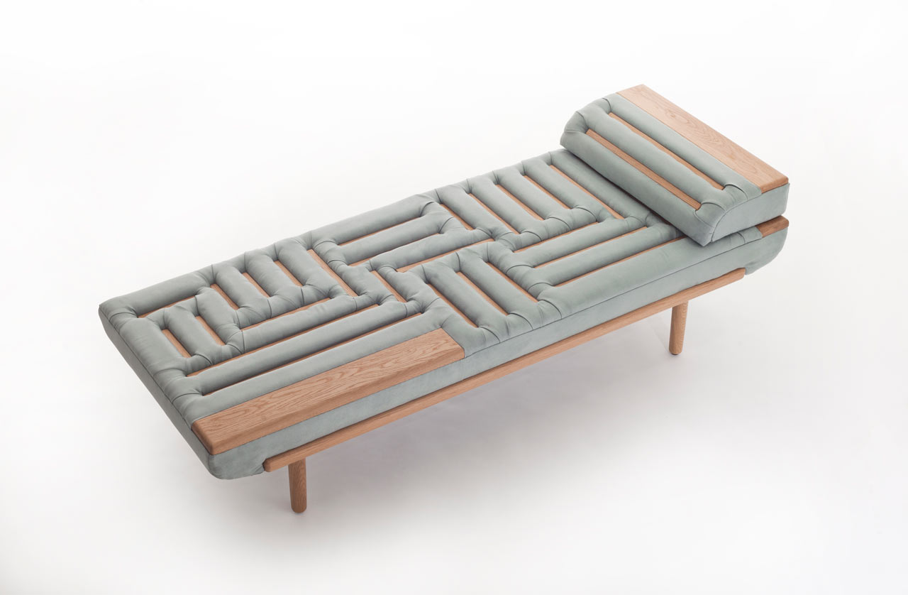 A Modern Sofa Made with a Traditional Upholstery Technique