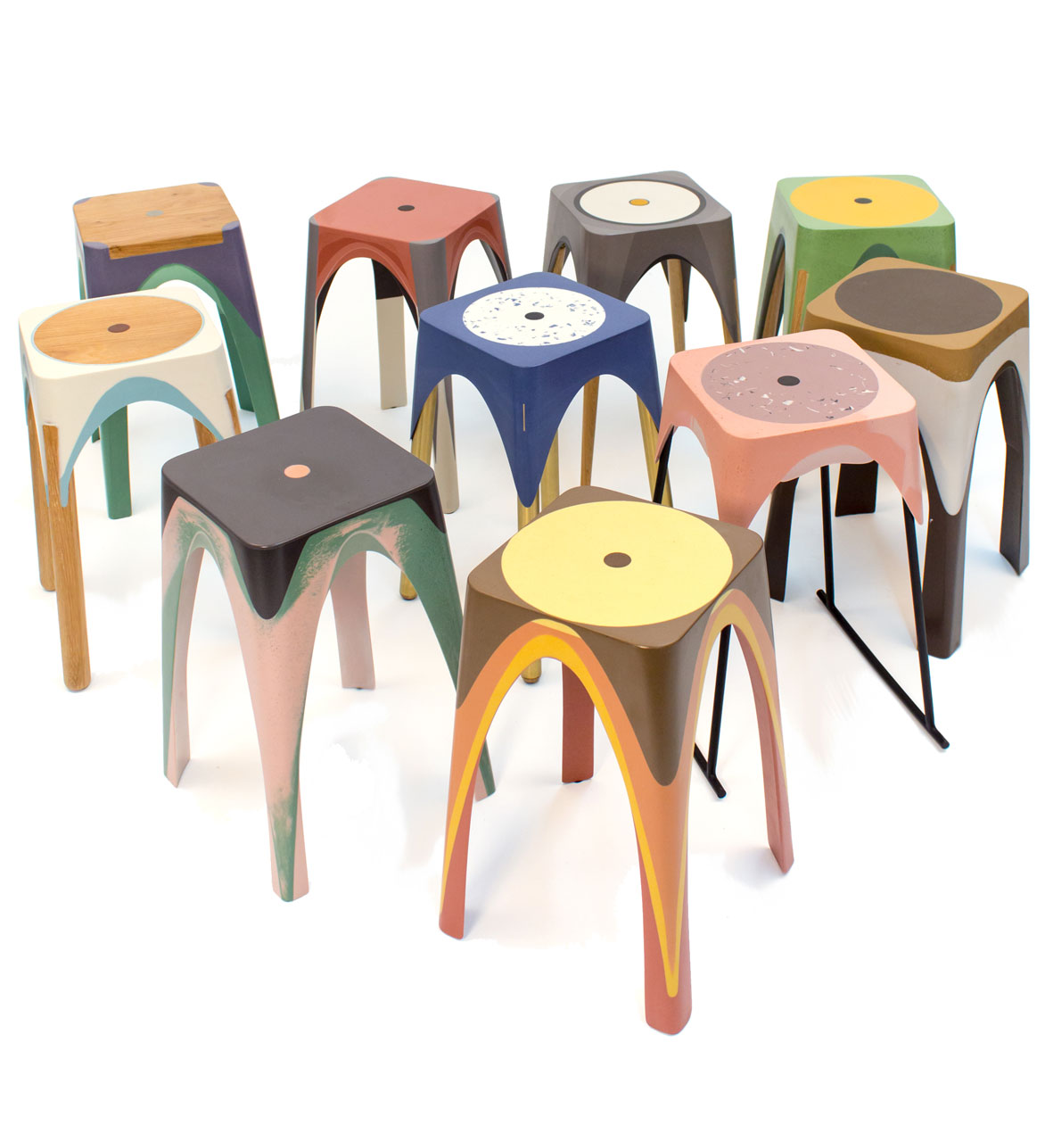 ... Resin Partners Home Design Products Resin Stools Created With The Help  Of Motion Design Milk ...